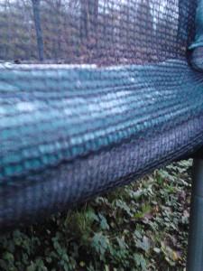 aussenliegendes Netz am Chiemsee Trampolin