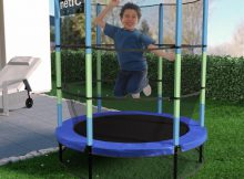 Kinetic Sports Kindertrampolin Jumper im Garten