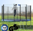 Songmics Gartentrampolin mit Springer