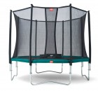 Berg Favorit + Safetynet Comfort Gartentrampolin